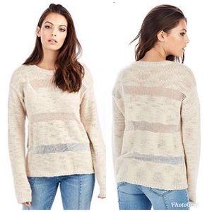 True Religion loose knit sweater